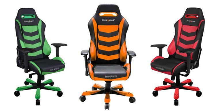 best gaming chair dxracer iron